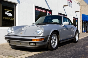 1989 Porsche 911 25th SILVER ANNV. cpe.