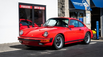 1986 Porsche 911 Carrera Cpe. ** SOLD**