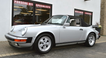 1989 Porsche 3.2 Cab 25th Annv.