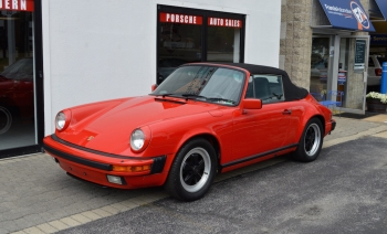 1986 Porsche Carrera 3.2 Cabriolet