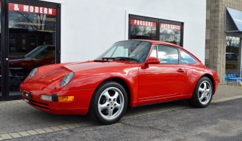 1996 Porsche 911 Carrera  C2 Coupe 6 speed