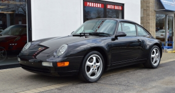1995 Porsche 911 Carrera Coupe, C2 black,black