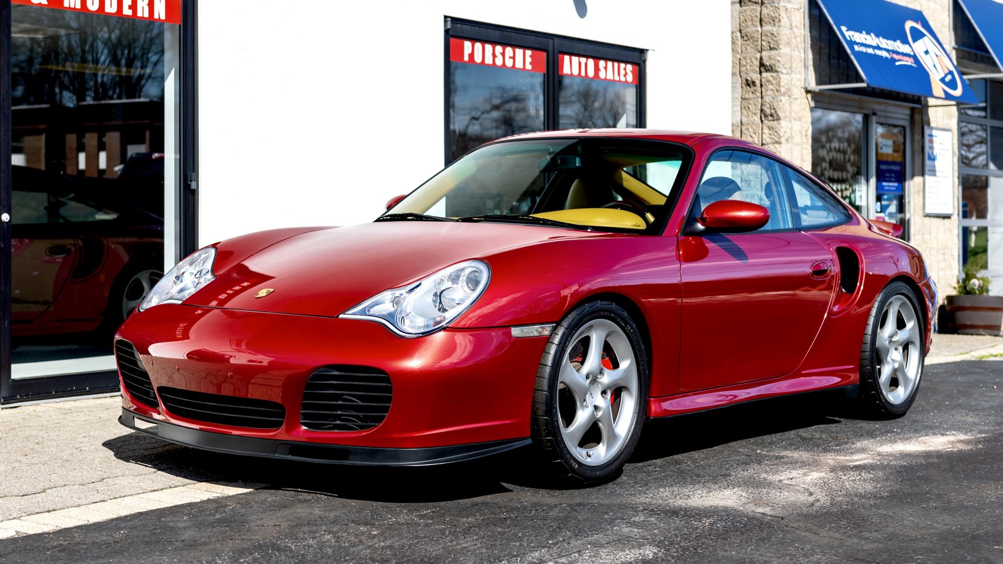 Details About 2001 Porsche 911 Turbo
