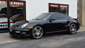2009 Porsche Turbo 6 Speed Manual