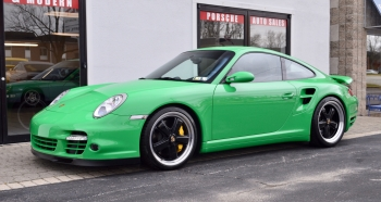 2009 Porsche Turbo PTS Green